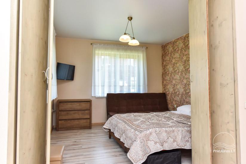"""Nowe domek, apartamenty i pokoje z kuchniami i tarasami w Połądze - willa """"OPTIMISTAS"""" - 44"""