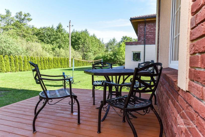 """Nowe domek, apartamenty i pokoje z kuchniami i tarasami w Połądze - willa """"OPTIMISTAS"""" - 40"""