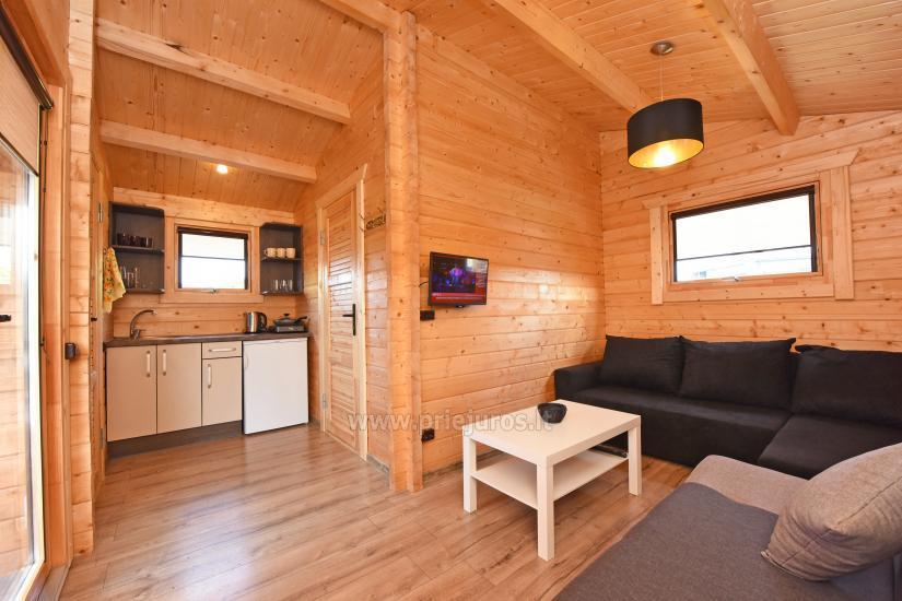 Nowe domki w Sventoji - spokojna wakacje dla rodzin i przyjaciół - 11