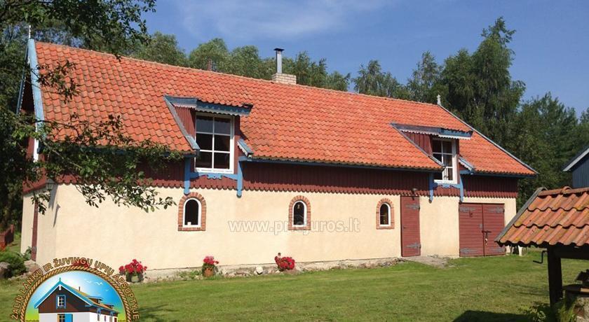 Gospodarstwo wiejskie Mingės vila na Litwie - 1