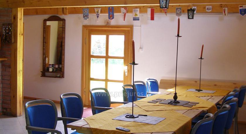 Gospodarstwo wiejskie Mingės vila na Litwie - 3