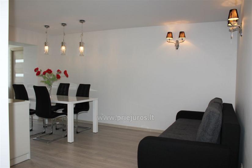 Nowoczesne i eleganckie trzy pokojowe apartamenty w centrum Nidy - 4