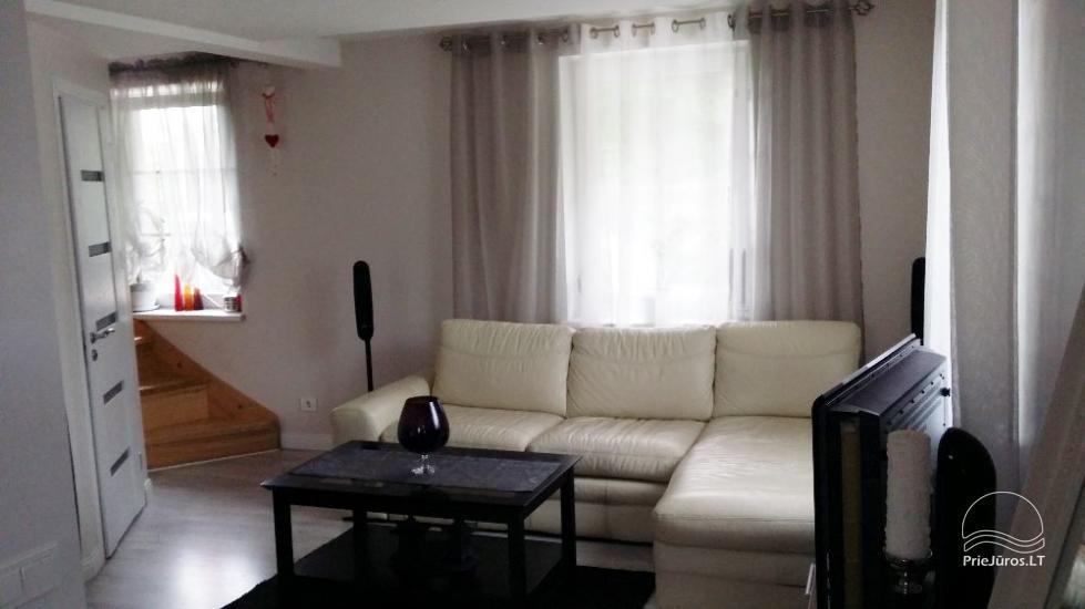 Apartament Srebrny Dom w Juodkrante, Mierzeja Kurońska, Litwa - 2