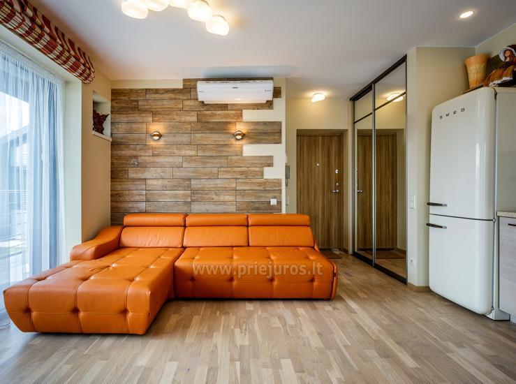 Apartament Smilciu Trio w Połądze, 50 metrów od morza - 4