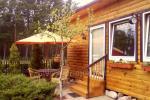 Wspaniałe trzyosobowe domki z udogodnieniami w Połądze