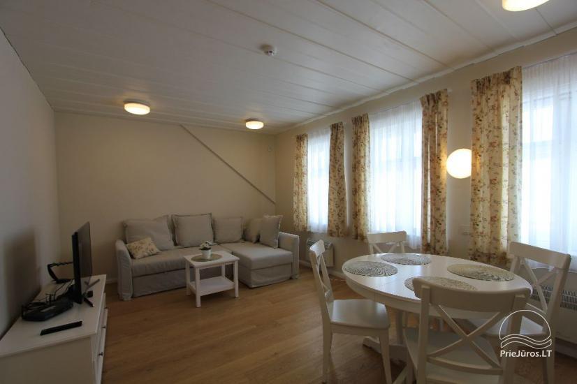 Mieszkania do wynajęcia w zabytkowej willi w Preila, Mierzeja Kurońska - 11