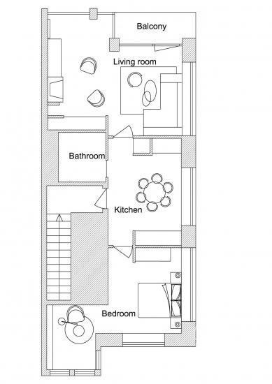 Mieszkanie do wynajęcia w centrum Juodkrante na Mierzei Kurońskiej - 9