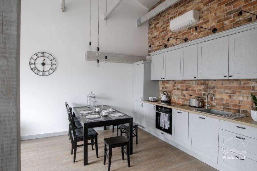 Comfort Stay - nowoczesny apartament w centrum Kłajpedy - 11