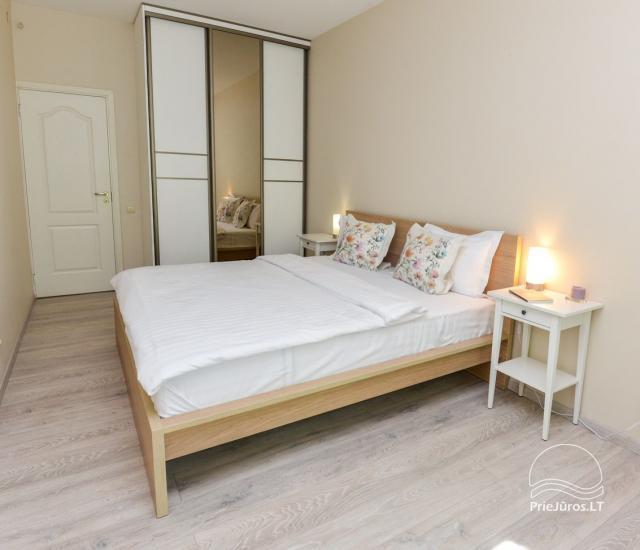 Apartament w Nidzie, 7 km od morza, z tarasem w sosnowym lesie - 9
