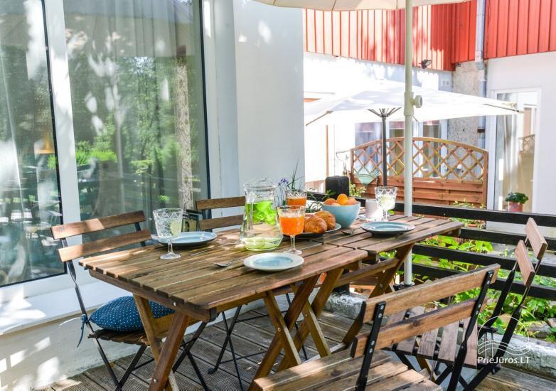 Apartament w Nidzie, 7 km od morza, z tarasem w sosnowym lesie - 14