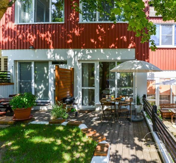 Apartament w Nidzie, 7 km od morza, z tarasem w sosnowym lesie - 15