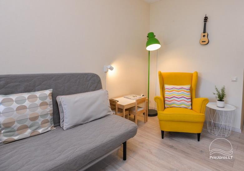 Apartament w Nidzie, 7 km od morza, z tarasem w sosnowym lesie - 7