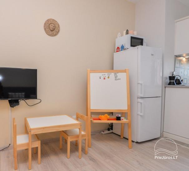 Apartament w Nidzie, 7 km od morza, z tarasem w sosnowym lesie - 8