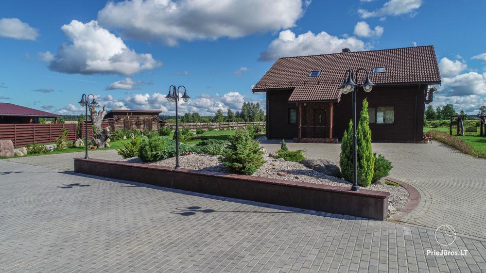 Gospodarstwo do wynajęcia na odpoczynek lub uroczystości na Litwie - 1