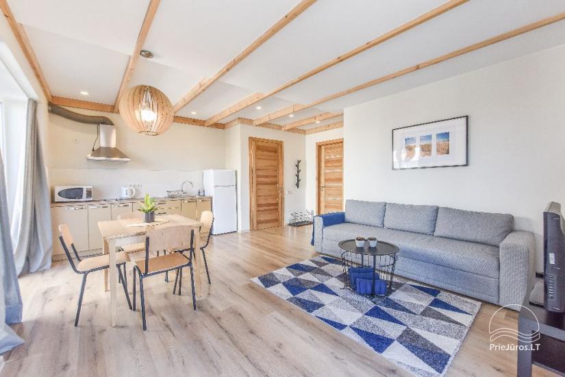 Apartamenty do wynajęcia w pensjonacie Atsipuskit, w Kunigiskes - 1