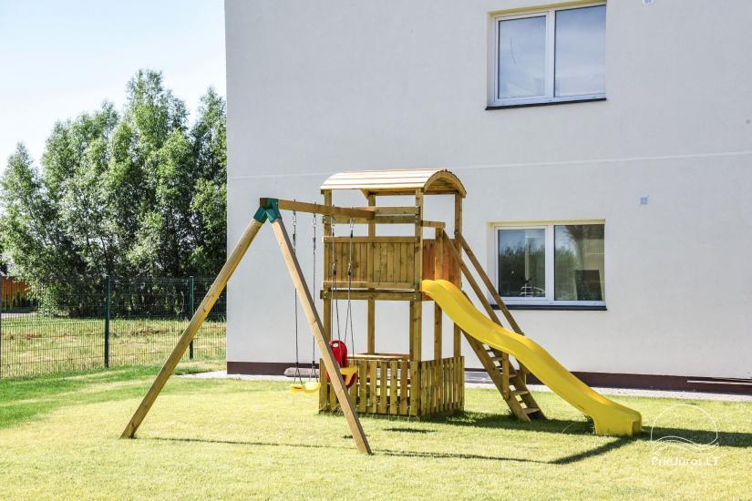 Apartamenty do wynajęcia w pensjonacie Atsipuskit, w Kunigiskes - 7