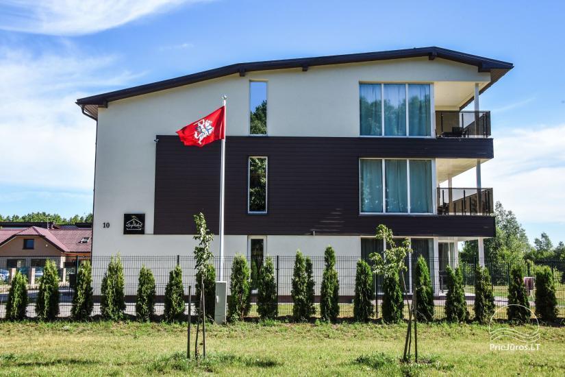 Apartamenty do wynajęcia w pensjonacie Atsipuskit, w Kunigiskes - 4