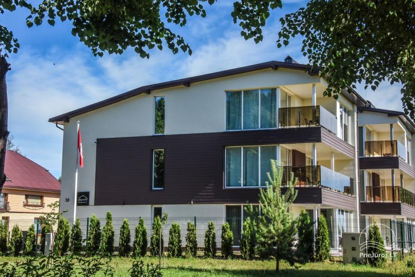 Apartamenty do wynajęcia w pensjonacie Atsipuskit, w Kunigiskes - 2