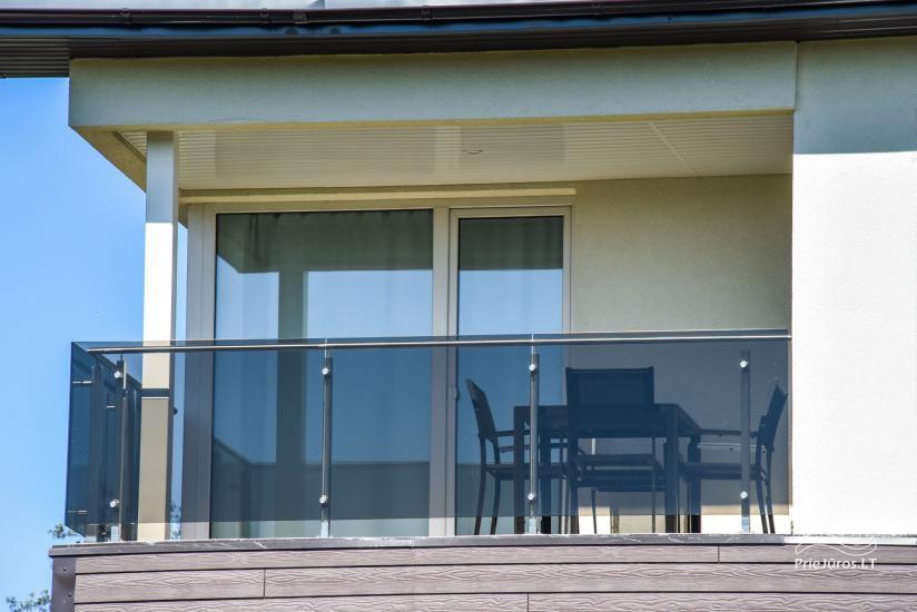 Apartamenty do wynajęcia w pensjonacie Atsipuskit, w Kunigiskes - 11