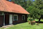 Dom leśny w Juodkrante - 2 apartamenty w tym samym domu