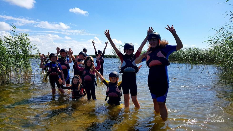 Obozy aktywny kemping dla dzieci i młodzieży nad morzem i Zalewem Kurońskim - 8