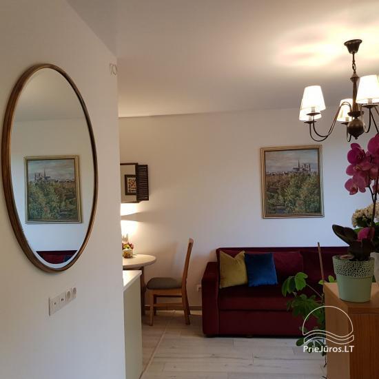 Nowe luksusowe dwupokojowe mieszkanie w Połądze Marko apartamentai - 4