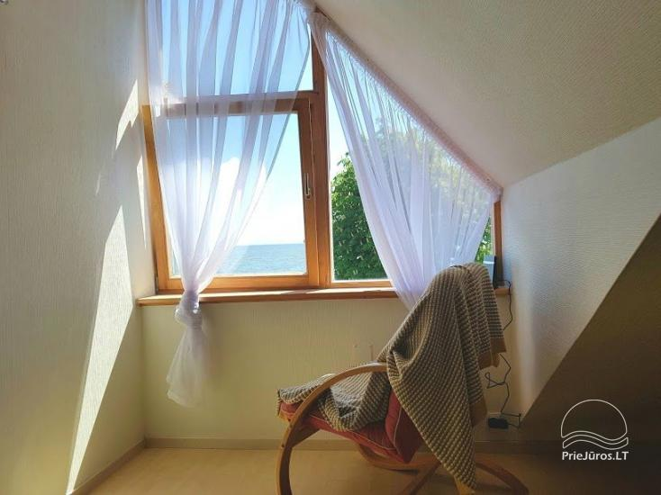 Apartament z dwiema sypialniami w Nidzie, z widokiem na Zalew Kuroński - 7