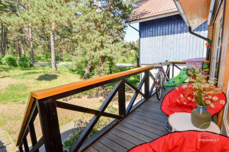 Apartament z dwiema sypialniami w Nidzie, z widokiem na Zalew Kuroński