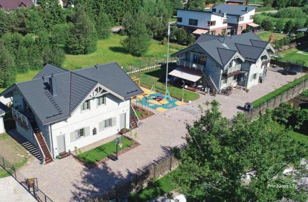 Baltu vila w Połądze - Nowe apartamenty na rodzinne wakacje 240 m do morza