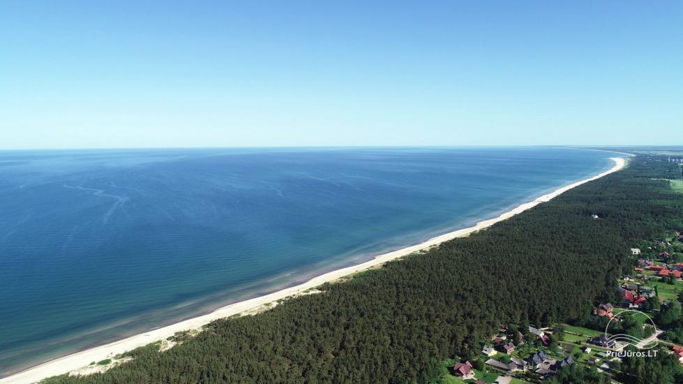 BALTŲ VILA w Połądze - Nowe apartamenty na rodzinne wakacje 240 m do morza - 5