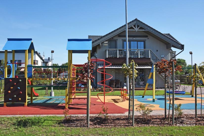 BALTŲ VILA w Połądze - Nowe apartamenty na rodzinne wakacje 240 m do morza - 10