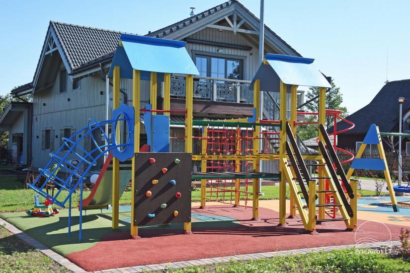 BALTŲ VILA w Połądze - Nowe apartamenty na rodzinne wakacje 240 m do morza - 11