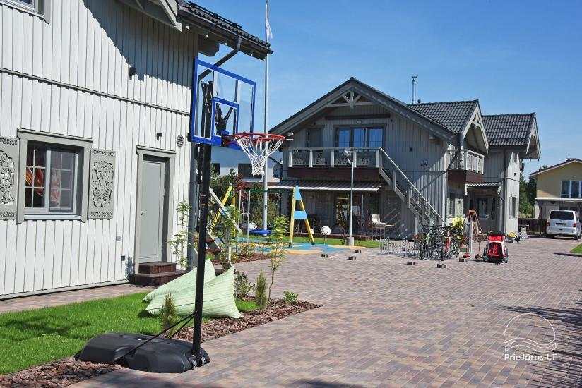 BALTŲ VILA w Połądze - Nowe apartamenty na rodzinne wakacje 240 m do morza - 8