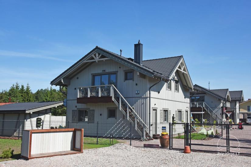 BALTŲ VILA w Połądze - Nowe apartamenty na rodzinne wakacje 240 m do morza - 7