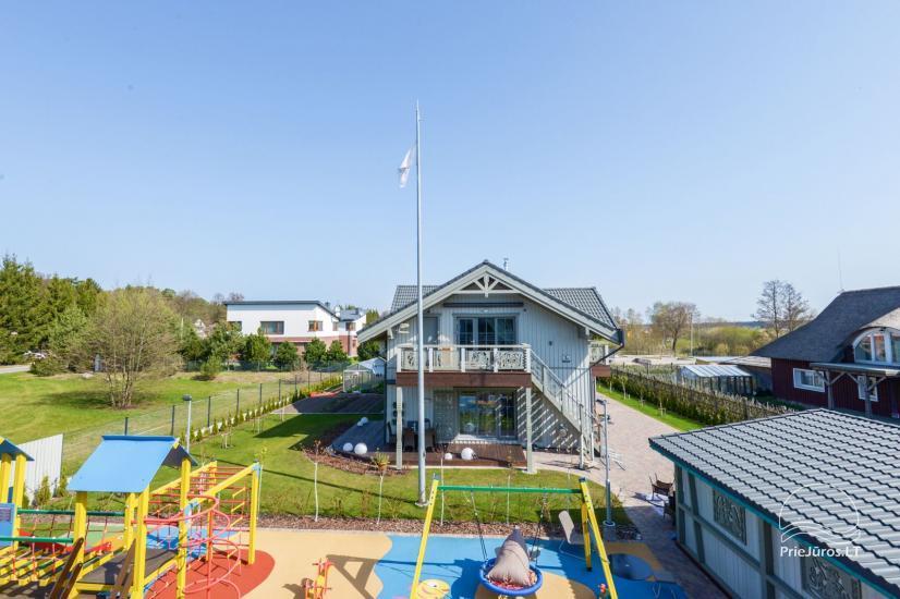 BALTŲ VILA w Połądze - Nowe apartamenty na rodzinne wakacje 240 m do morza - 9