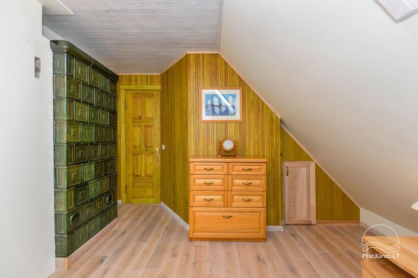Trzypokojowy apartament z podwórkiem, altaną - do wynajęcia w Nidzie, Mierzeja Kurońska - 10
