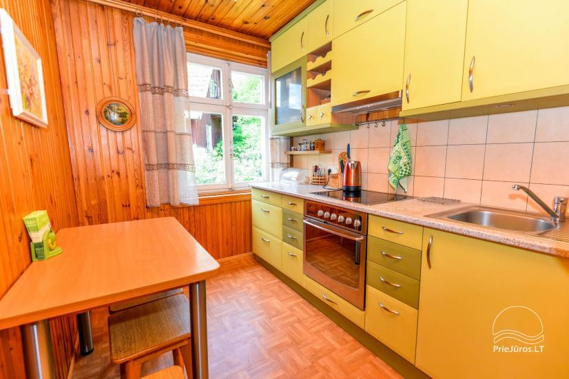 Trzypokojowy apartament z podwórkiem, altaną - do wynajęcia w Nidzie, Mierzeja Kurońska - 11