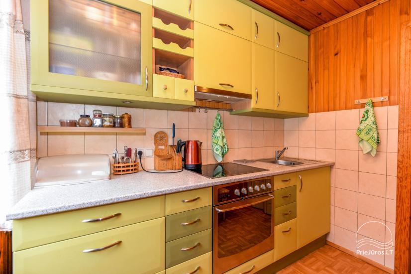 Trzypokojowy apartament z podwórkiem, altaną - do wynajęcia w Nidzie, Mierzeja Kurońska - 12