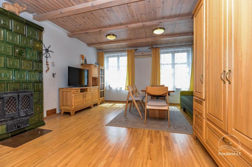 Trzypokojowy apartament z podwórkiem, altaną - do wynajęcia w Nidzie, Mierzeja Kurońska - 15