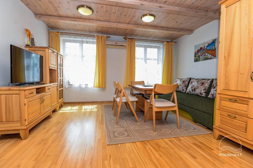 Trzypokojowy apartament z podwórkiem, altaną - do wynajęcia w Nidzie, Mierzeja Kurońska - 16