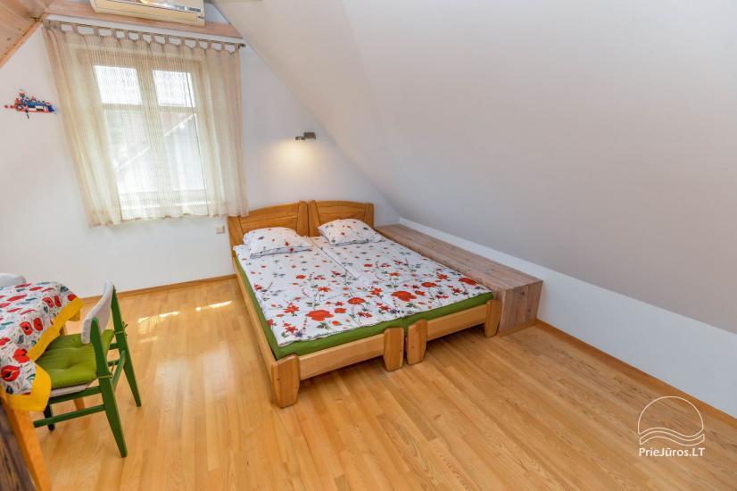 Trzypokojowy apartament z podwórkiem, altaną - do wynajęcia w Nidzie, Mierzeja Kurońska - 17