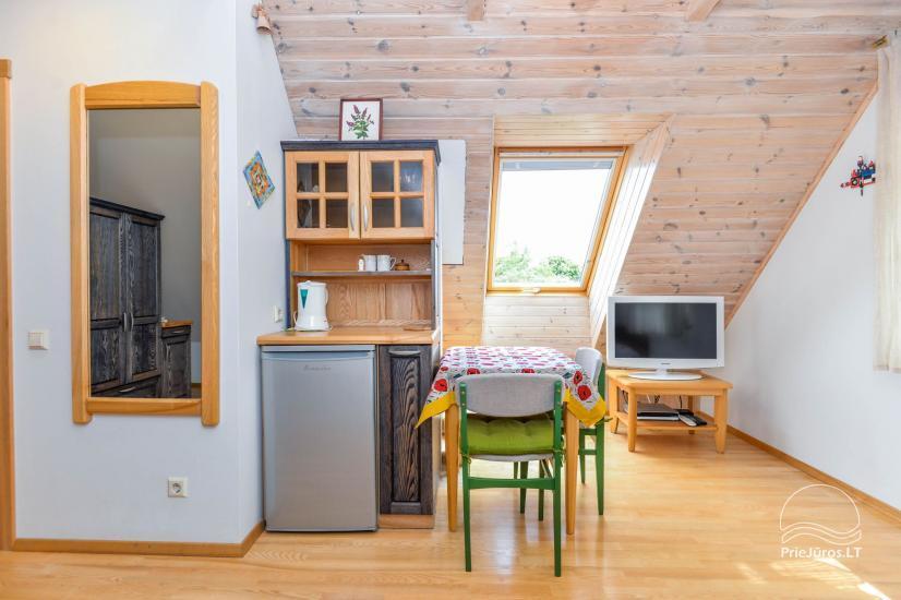 Trzypokojowy apartament z podwórkiem, altaną - do wynajęcia w Nidzie, Mierzeja Kurońska - 19