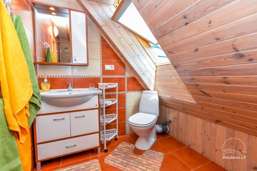 Trzypokojowy apartament z podwórkiem, altaną - do wynajęcia w Nidzie, Mierzeja Kurońska - 22