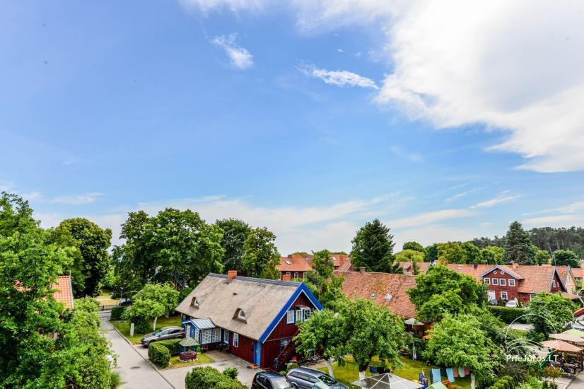 Trzypokojowy apartament z podwórkiem, altaną - do wynajęcia w Nidzie, Mierzeja Kurońska - 5