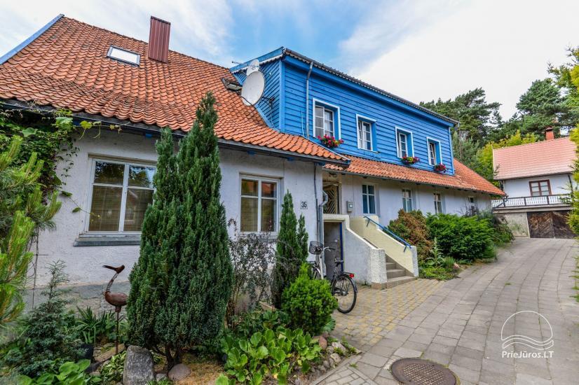 Trzypokojowy apartament z podwórkiem, altaną - do wynajęcia w Nidzie, Mierzeja Kurońska - 2