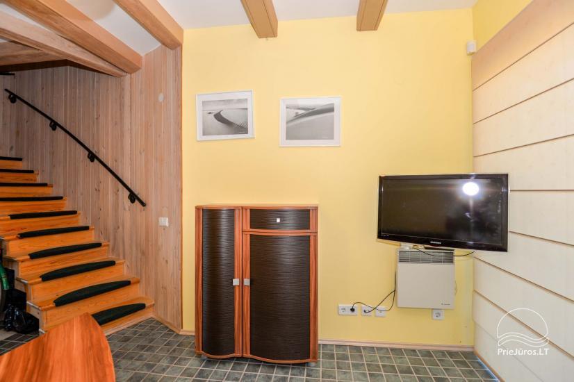 Dva pokojowe mieszkanie do wynajęcia w Nidzie, Mierzeja Kurońska, Litwa - 4