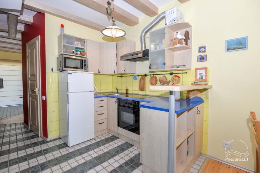 Dva pokojowe mieszkanie do wynajęcia w Nidzie, Mierzeja Kurońska, Litwa - 5