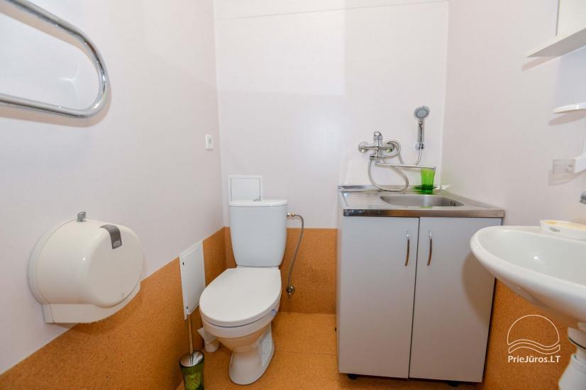 Dva pokojowe mieszkanie do wynajęcia w Nidzie, Mierzeja Kurońska, Litwa - 13