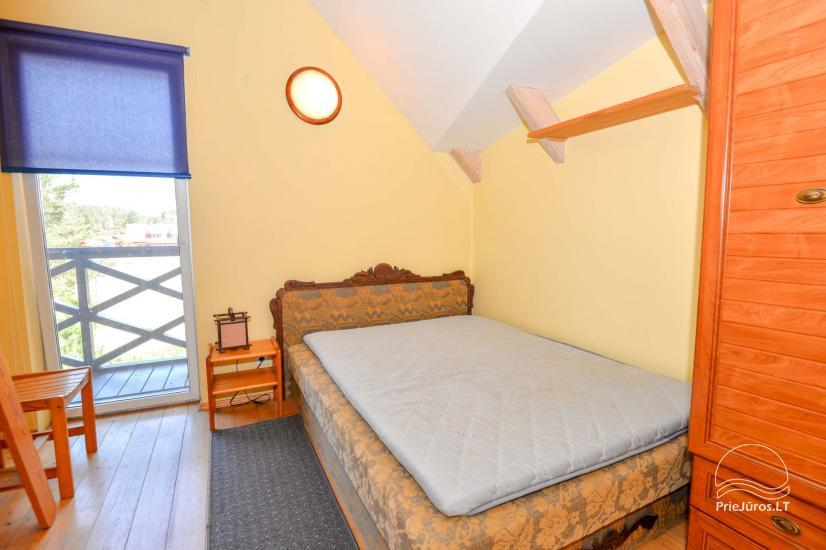 Dva pokojowe mieszkanie do wynajęcia w Nidzie, Mierzeja Kurońska, Litwa - 14