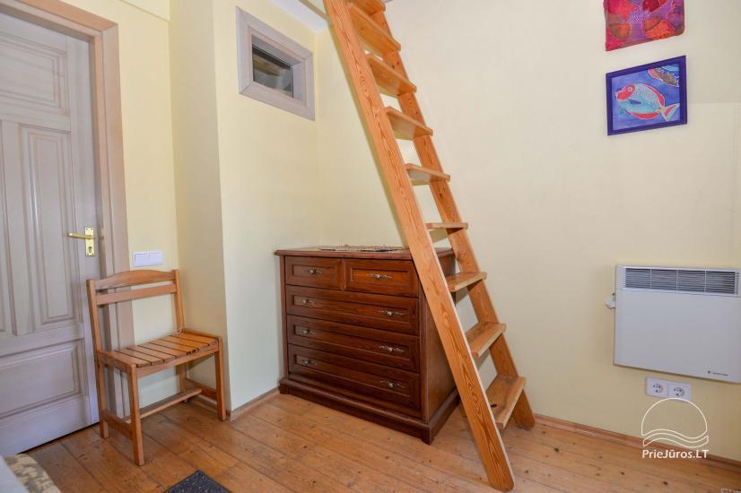 Dva pokojowe mieszkanie do wynajęcia w Nidzie, Mierzeja Kurońska, Litwa - 16